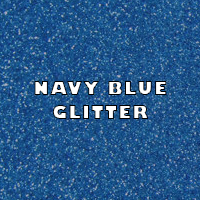 Navy Blue Glitter