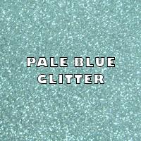 Pale Blue Glitter