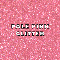 Pale Pink Glitter